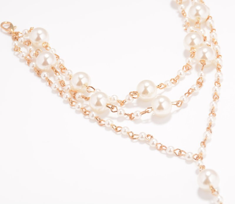 167-38f7685c116856a298e23a7aec5507ac Sophisticated Bridal Pearl Chain Anklet Bracelet Jewelry