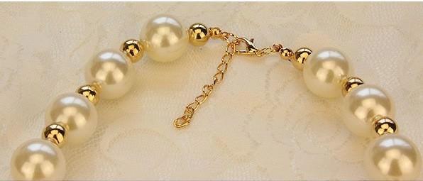 178-c4ae143431d8ddbebf74a68517b2b27d Giant Pear Bead Necklace With Rhinestone Crystals