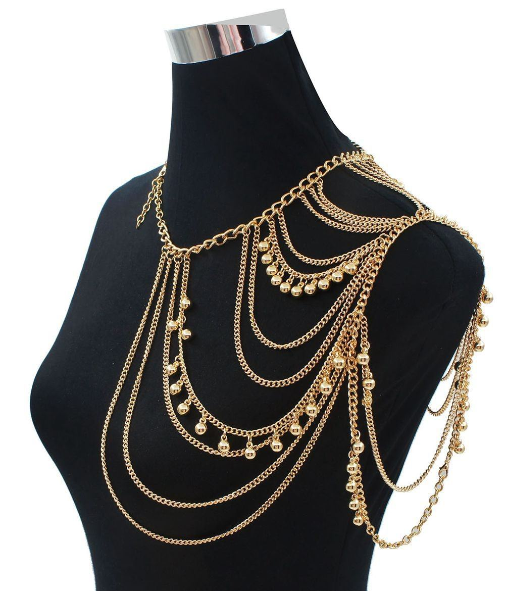 11459-18edd45c4d6556e10d11e36ad669269d One Shoulder Multiple Layered Body Chain Necklace