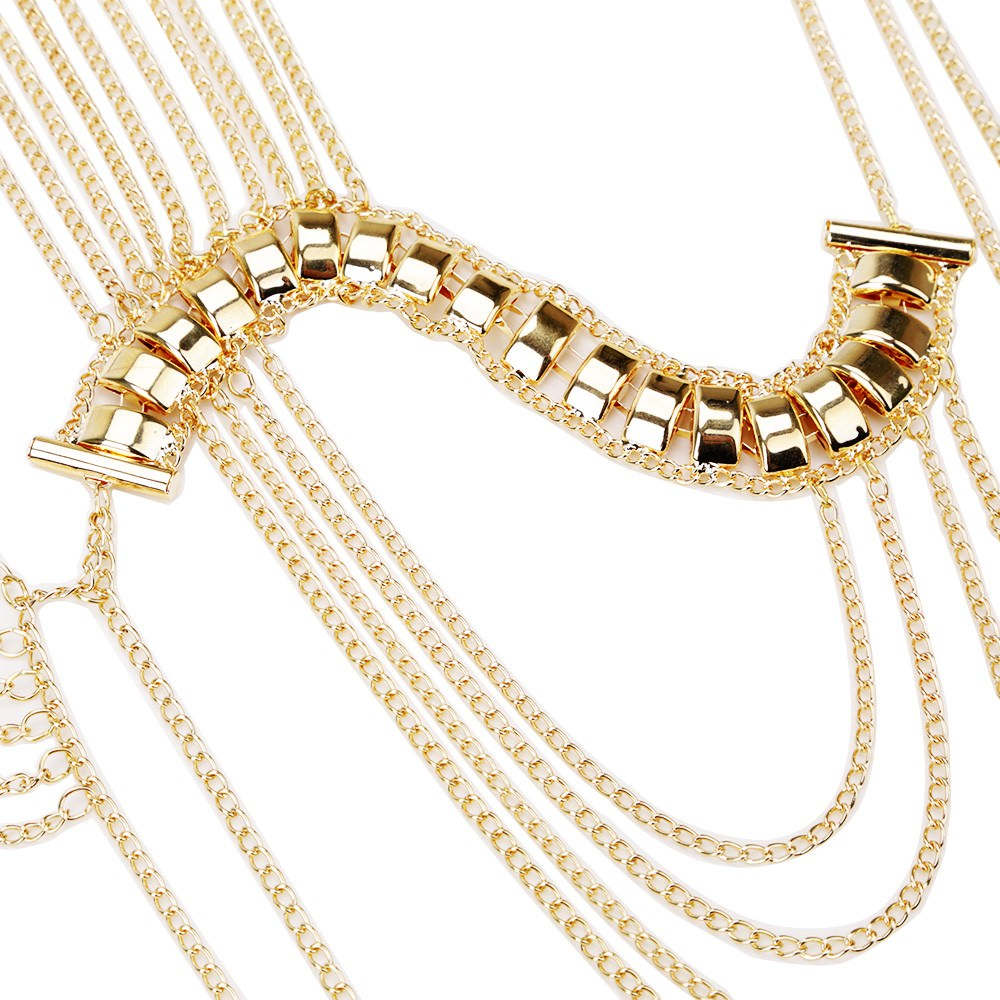 11461-ed4e42000e256dc74b1342ee9960e9e5 Classic Style Jewelry Statement Necklace Body Chain Shoulder Chain