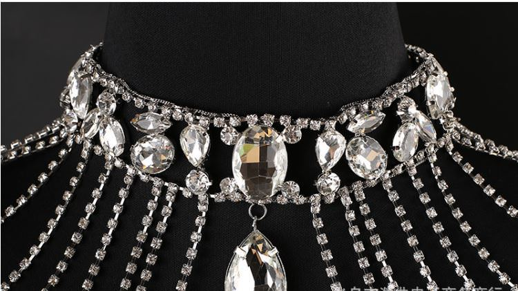 11469-04fade6304b923e70c79ce38518f3732 Bridal Crystal Chain Choker Necklace For Shoulders