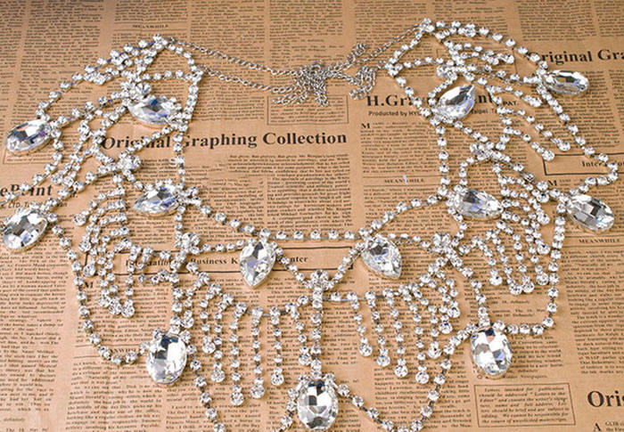 11473-ee4a4e15cd268ac01d2855157ff0968f Luxurious Tiered Crystal Bridal Shoulder Chain Necklace