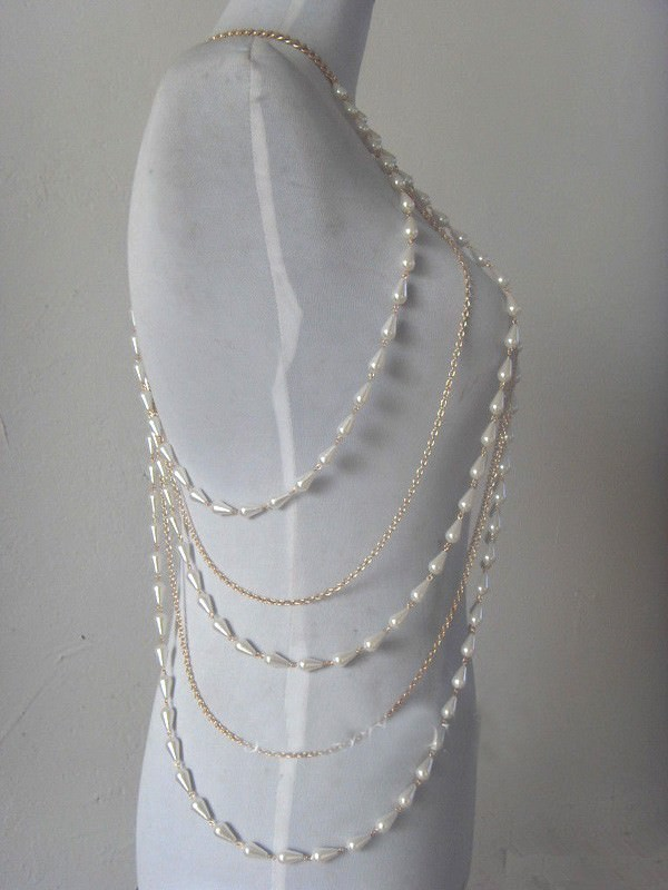 11475-402dffa834342fa766208a7cf635dceb Elegant Faux Pearl And Silver/Gold Chain Body Harness