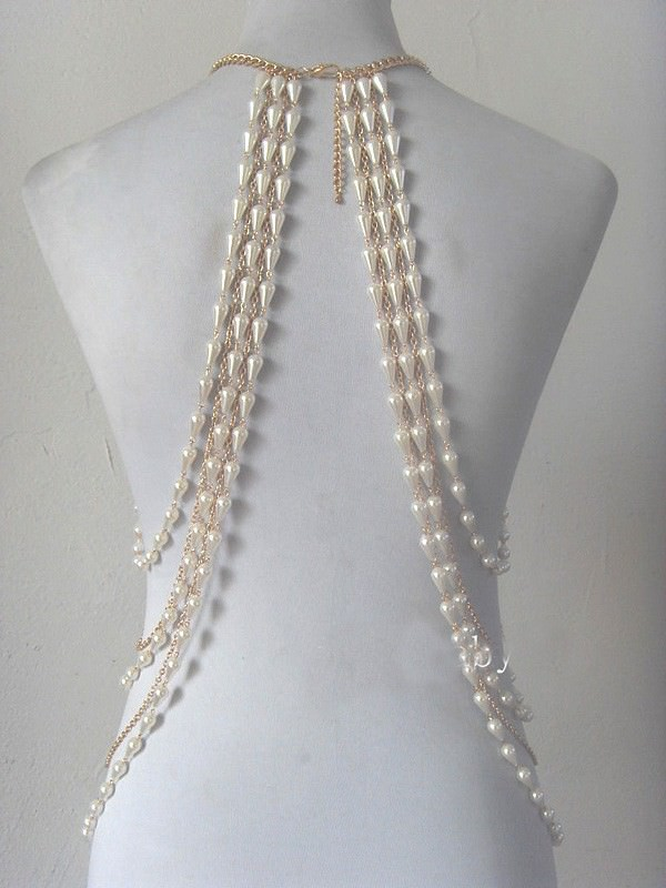 11475-49d6239ae7972d60c9dc78115b4cb00d Elegant Faux Pearl And Silver/Gold Chain Body Harness