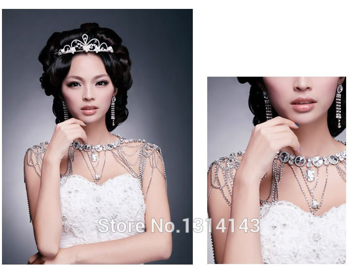 11495-bcf3a0f5ed8b98270ddcf99467b28dc5 Luxurious Bridal Shoulder Chain Necklace With Crystals