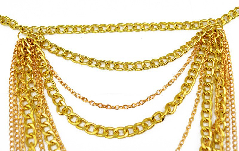 11496-b3678a179ddfcac925520d7d72ac5cd5 Sexy Sunshine Shoulder Curved Chain Body Jewelry