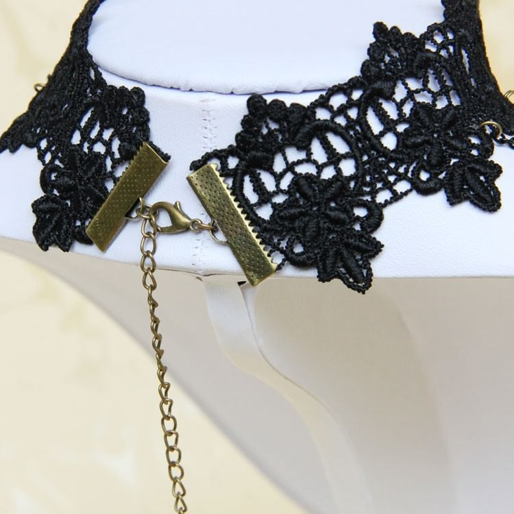 11502-5fae4b8d19affc927311cd35df660ced Vintage Gothic Tiered Chain Choker Jewelry With Crystal Pendant