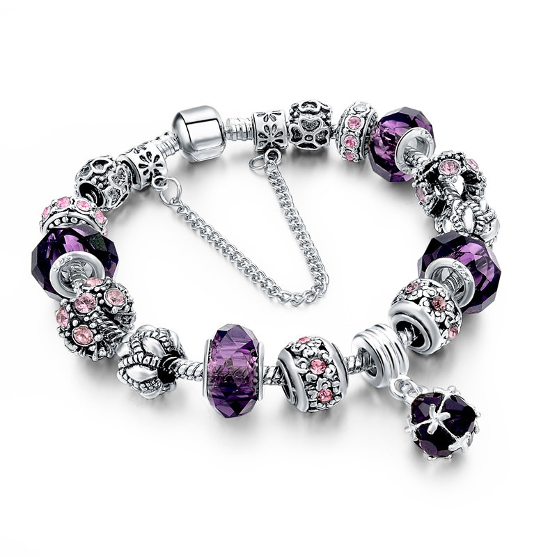 11510-84bd9473b32a9e5ad5429564715065a7 Charm Bracelet Chain With Bead And Pendant