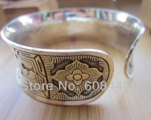 11511-4cb38282f050d7f8eebf1da63b74a9ff Wide Gypsy Cuff Bangle Silver Bracelets For Women