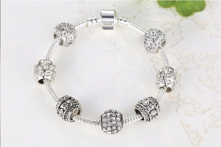 11512-8de8da30a2d25d99afcbef1610d7a49d Simple Charm Bracelet Chain With Crystal Beads