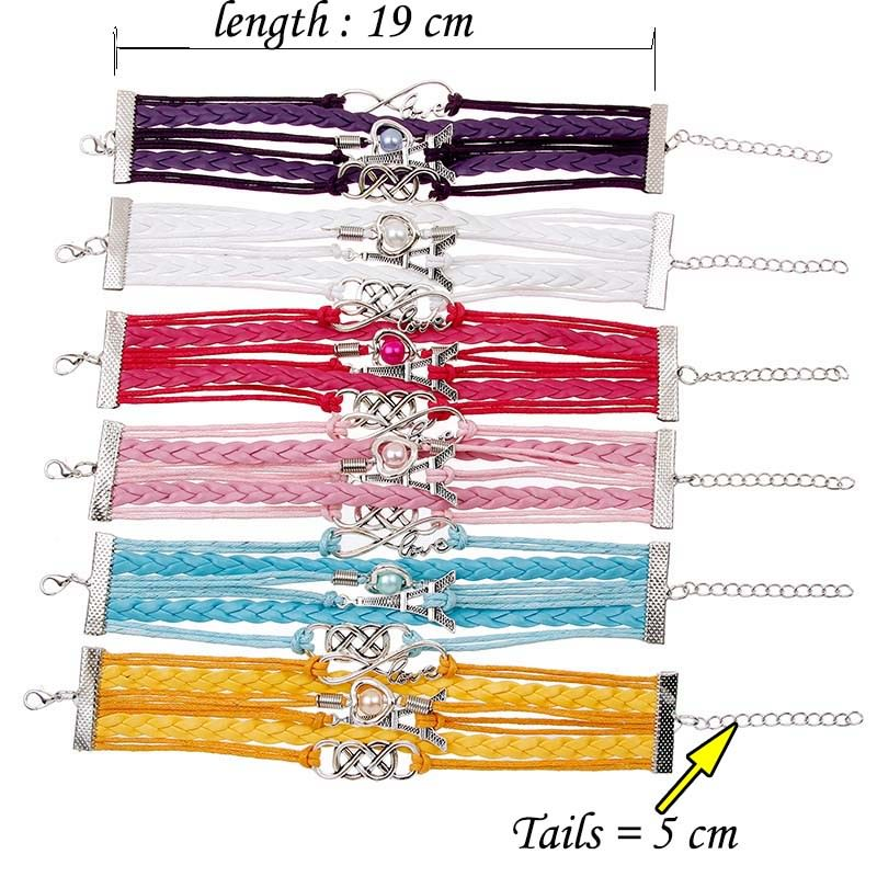11513-a34c677d97579a275f7e872f048baf54 Retro Multilayer Leather And Chord Bracelet With Metal Charms