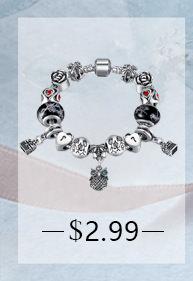 BELA Silver Charm Bracelet Chain With Heart Pendant Charm