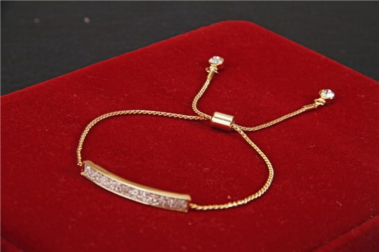 11515-ee3d784c2dd19a938d6033feba8ab94d Unique Micro Paved 18K Gold/Silver Plated Chain Bracelet Jewelry