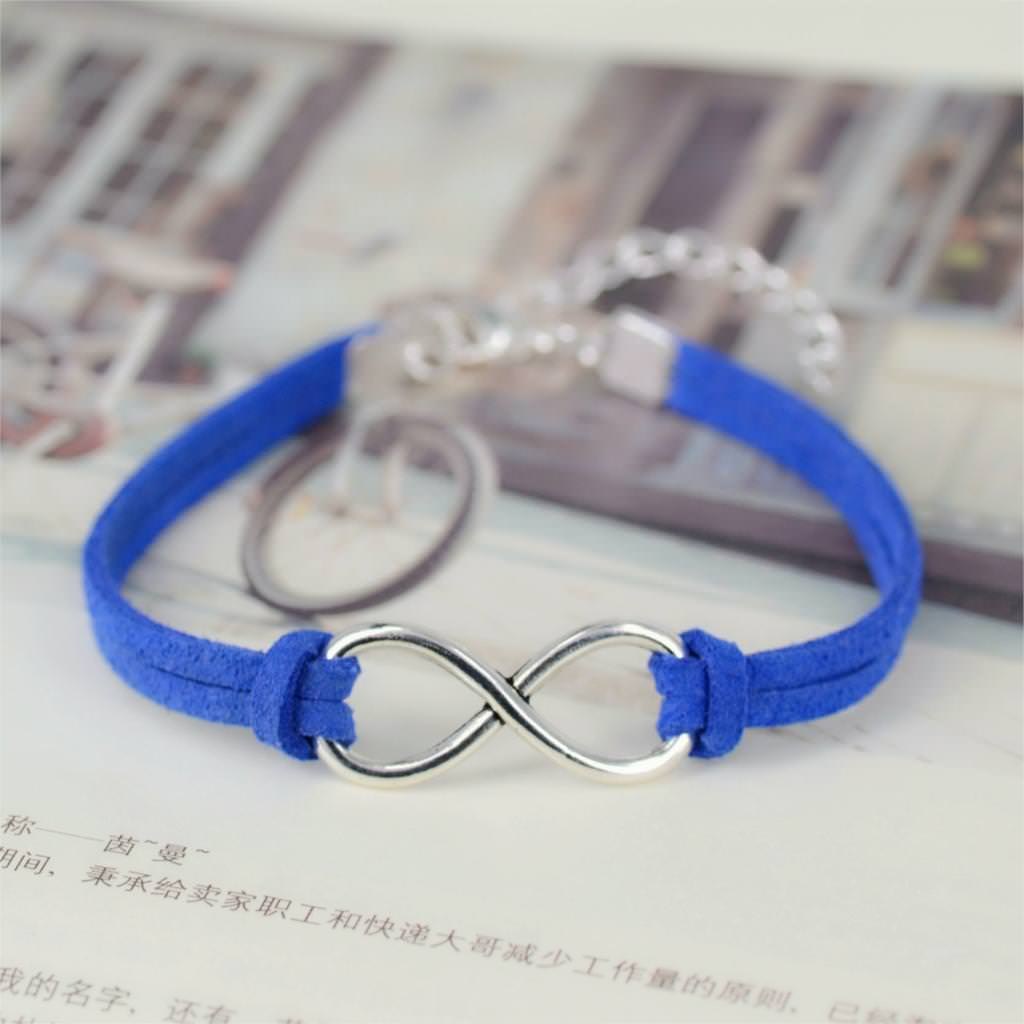 11519-7b634ac429682d779c660d242d54b9af Silver Plated Infinity Charms With Leather Strap Bracelet Jewelry