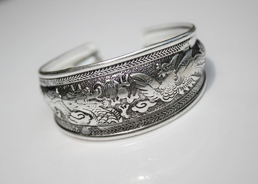 11521-a3e44d48b0f0a0a336891e6d3015b565 Retro Silver Plated Cuff Bangles Jewelry In Various Designs