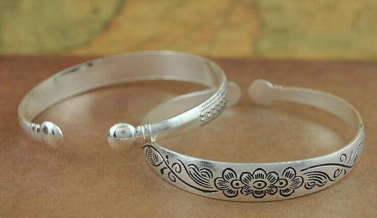 11521-b1da17923634d5fd0f77f768792e735e Retro Silver Plated Cuff Bangles Jewelry In Various Designs