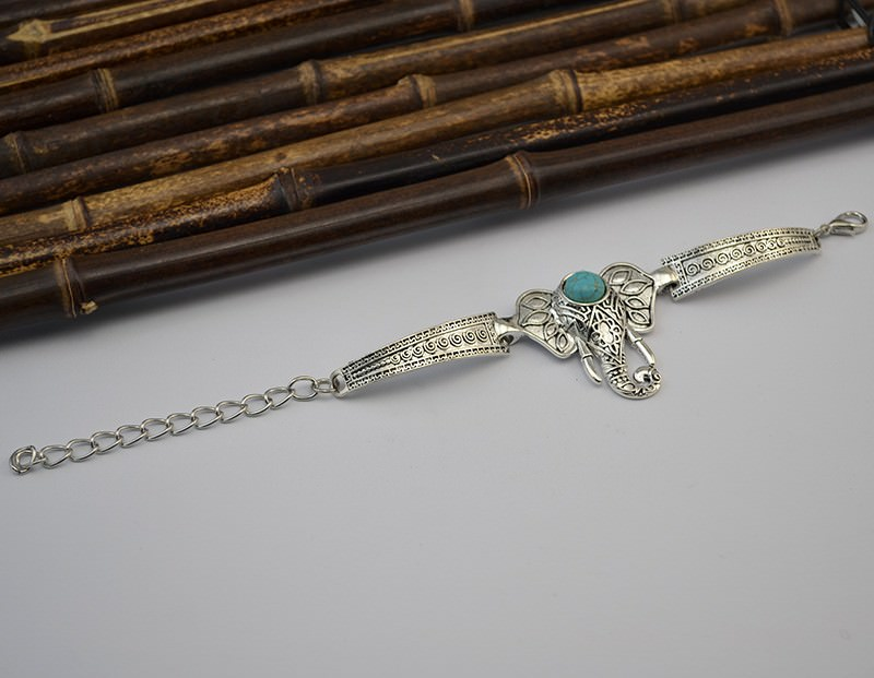 11525-cc16d827097c05d8f521ad8baf3e383d Vintage Retro Silver Bracelet Jewelry With Various Turquoise Accent