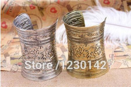 11526-933a2a7c0dce6a10a6e9cc3c3b04a64e Extra Wide Warrior Princess Cuff Armband Bangle Bracelet Jewelry
