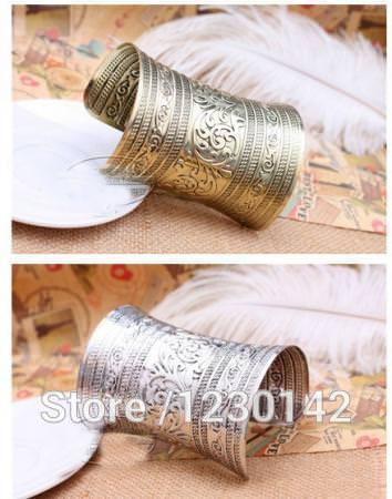 11526-a0215c38b2fd60459d8e5c755dcdda0e Extra Wide Warrior Princess Cuff Armband Bangle Bracelet Jewelry