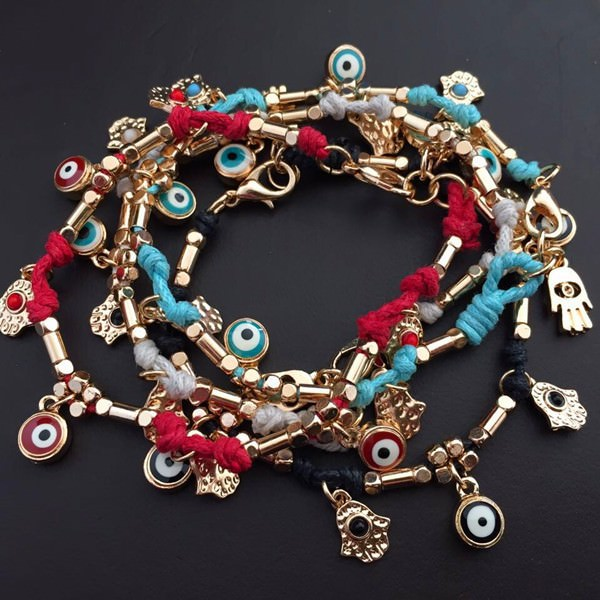 11532-604aa4b95fccf788278392ecc00ed422 Ancient Hamsa And Big Eye Charm Bracelet Jewelry