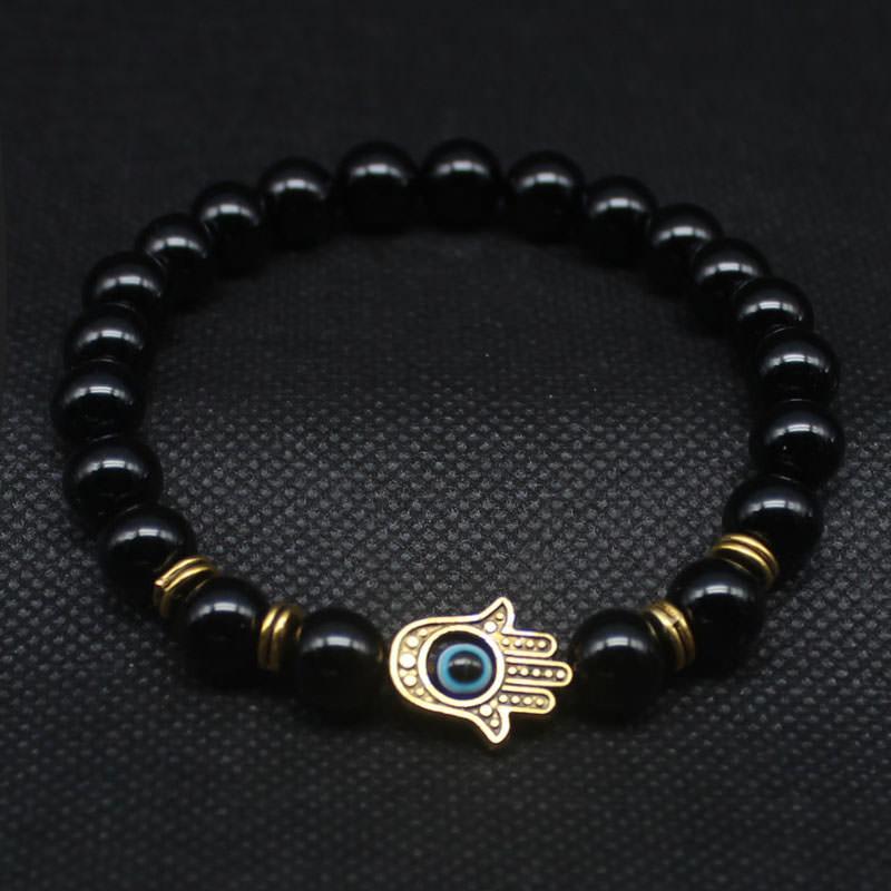 11534-17352d75417f490a618238dd133f7c27 Hand Of Fatima Beaded Bracelet Jewelry For Men Or Women