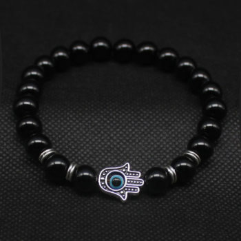 Hand Of Fatima Beaded Bracelet Jewelry For Men Or Women