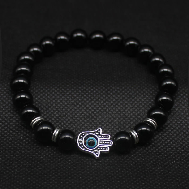 11534-e68681cf8d5fd71375c444d76709b021 Hand Of Fatima Beaded Bracelet Jewelry For Men Or Women