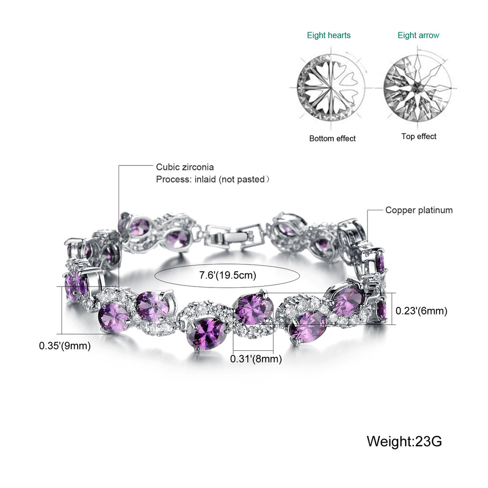 11537-8a4a534a673fab2c01c6cceff8f22fcf Romantic Big Purple Oval Crystal Filled Bracelet Jewelry For Women