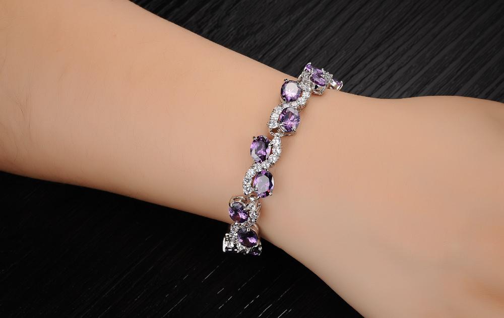 11537-9debc82aacfdd3b193798a50f786c4b2 Romantic Big Purple Oval Crystal Filled Bracelet Jewelry For Women