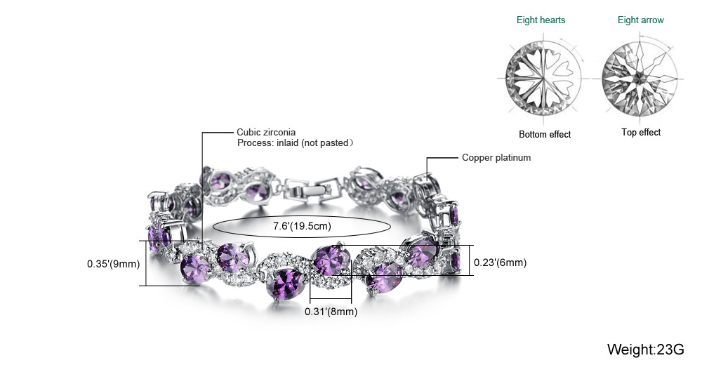 11537-ab307a30df04e26559c6355e51bae8af Romantic Big Purple Oval Crystal Filled Bracelet Jewelry For Women