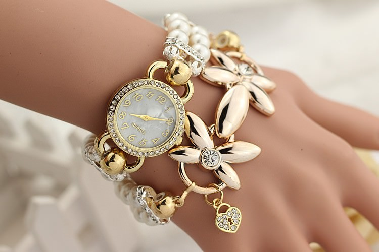 11542-00640bfdf4f81d5a189217844b59442f Ornate Watch Bracelet Jewelry With Pearls And Cubic Zirconia