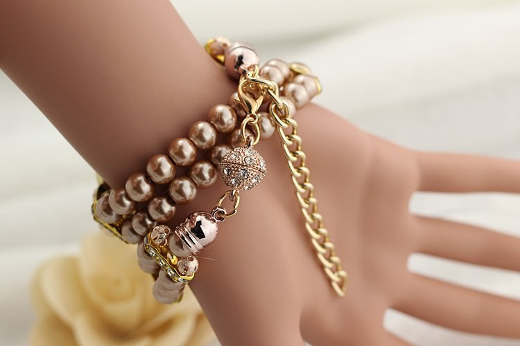 11542-0a0d2712eb5bc3e898b48ed4c3ca6cac Ornate Watch Bracelet Jewelry With Pearls And Cubic Zirconia