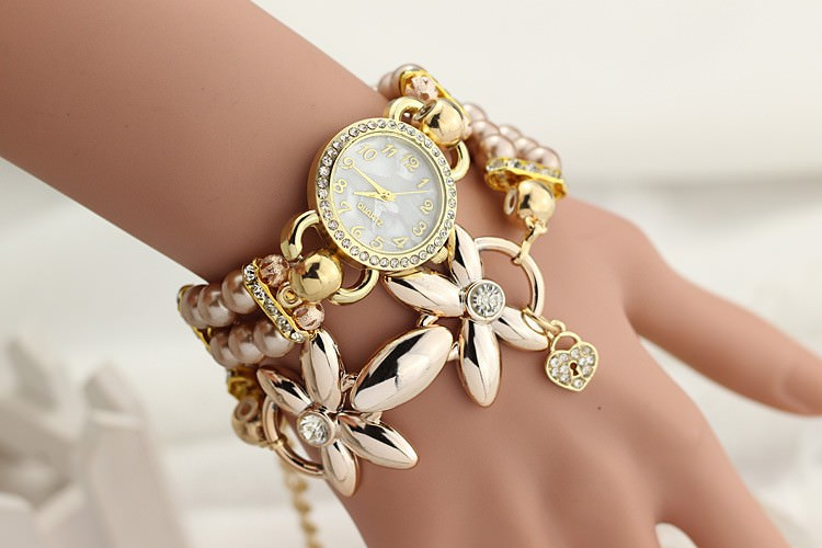 11542-413282246490f5df66090e046c009cce Ornate Watch Bracelet Jewelry With Pearls And Cubic Zirconia