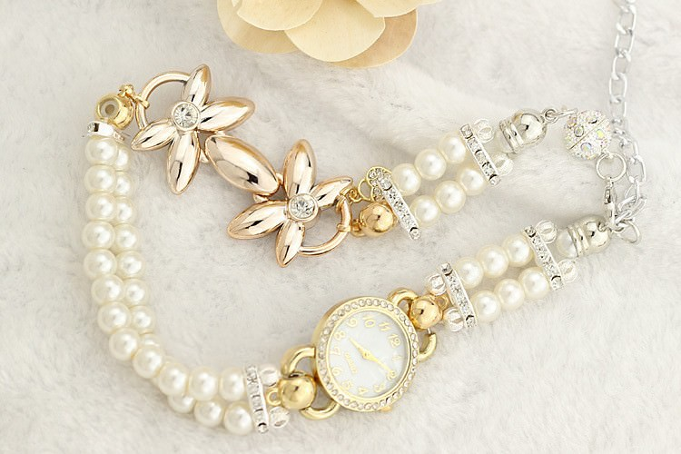 11542-82564bae5887adc89d8e58f58953f182 Ornate Watch Bracelet Jewelry With Pearls And Cubic Zirconia