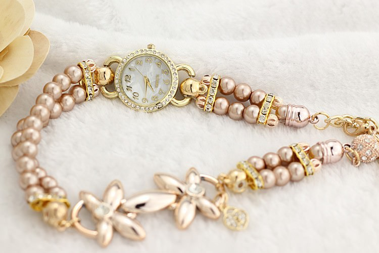 11542-aad3e2ea4a6d40f7cb83f7d08f6c56f9 Ornate Watch Bracelet Jewelry With Pearls And Cubic Zirconia