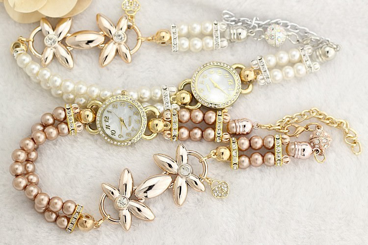 11542-e4403528376a679d250e54124f6b97f1 Ornate Watch Bracelet Jewelry With Pearls And Cubic Zirconia
