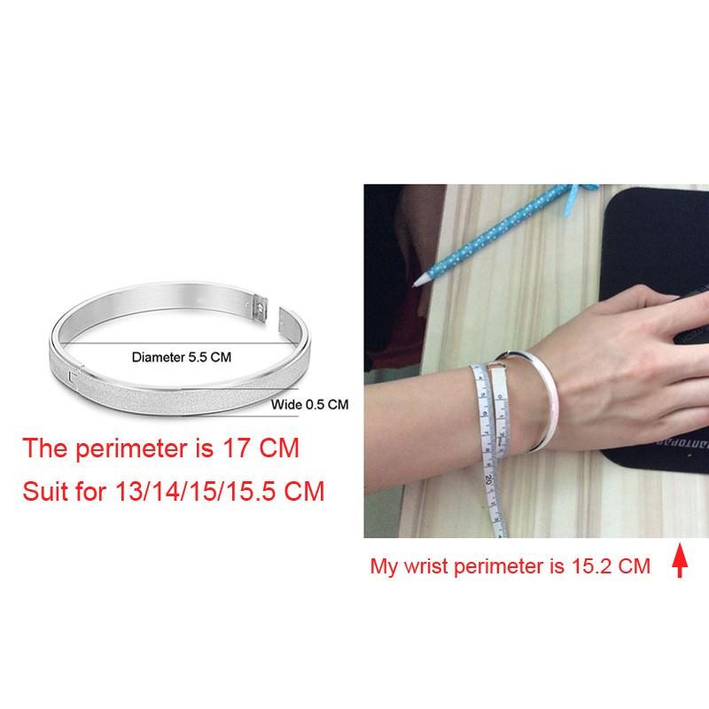 11547-11b00182318e161cdf7dc08dd87356f6 Stylish Frosted Bangle Bracelet Jewelry For Women