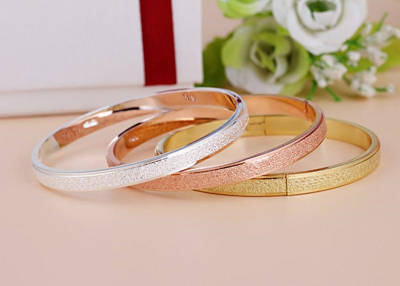 11547-2ec41da4ba9eb0440bdcdb095d400bbb Stylish Frosted Bangle Bracelet Jewelry For Women
