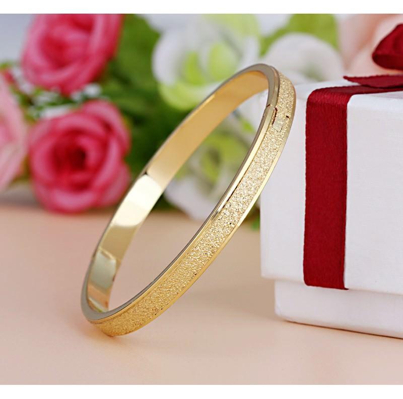 11547-d35e046df7883a1e406a25d7228825da Stylish Frosted Bangle Bracelet Jewelry For Women