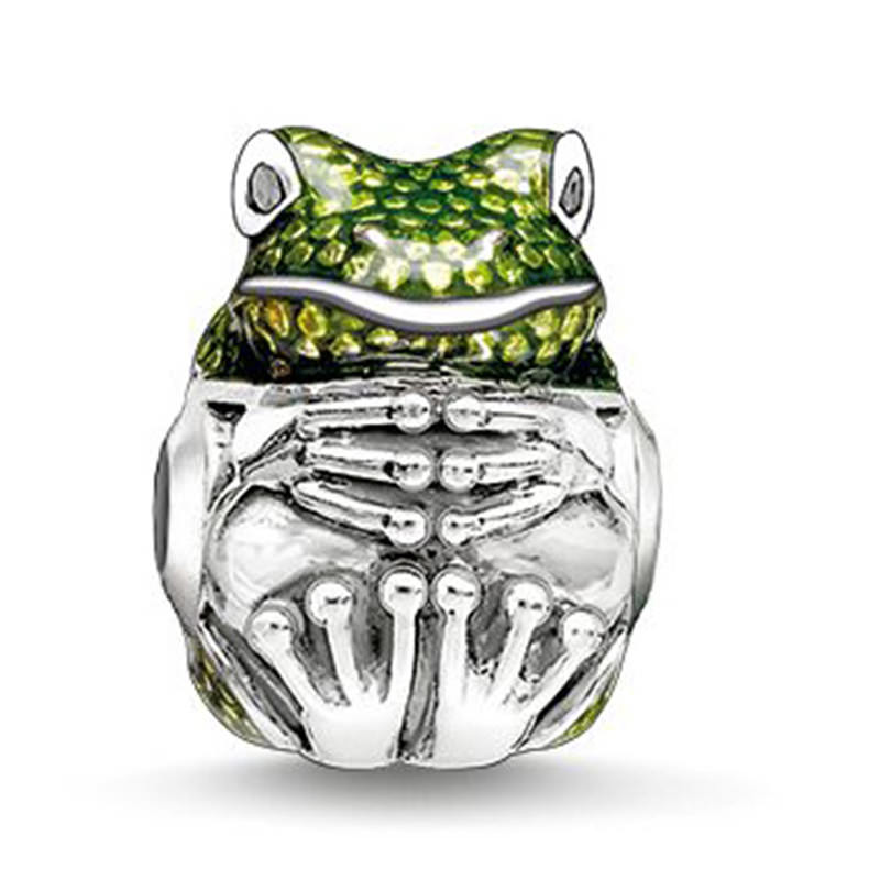 11553-551903e27c120b86d717ed44408dbeea Pandora Compatible Frog Bead Charm For Bracelets Or Necklaces