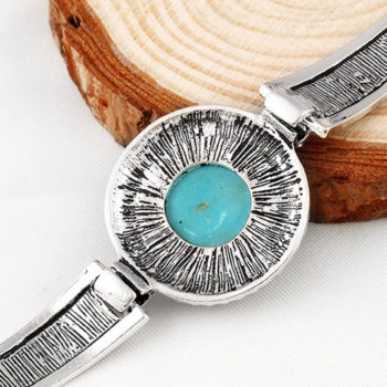 Vintage Bohemian Turquoise Adjustable Bracelet Jewelry