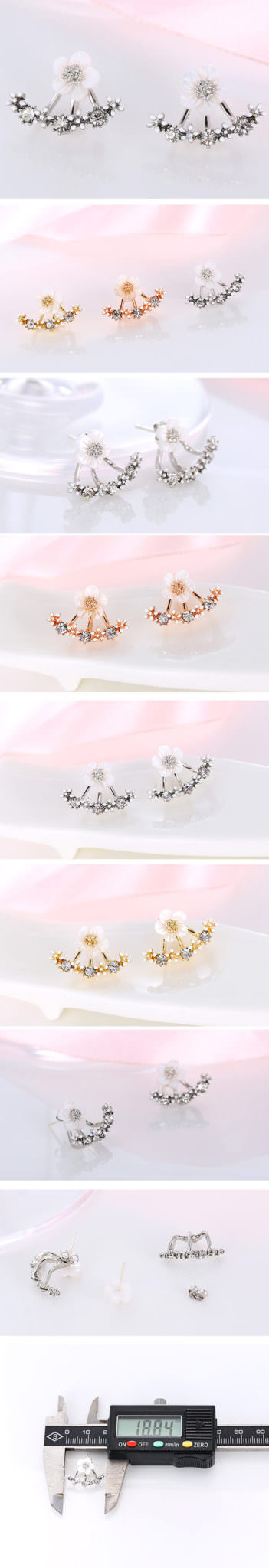 11559-37915dc6fb1fa3ceaf77b0d0328ccd5f Korean Floral Ear Jacket With Cubic Zircon Crystals