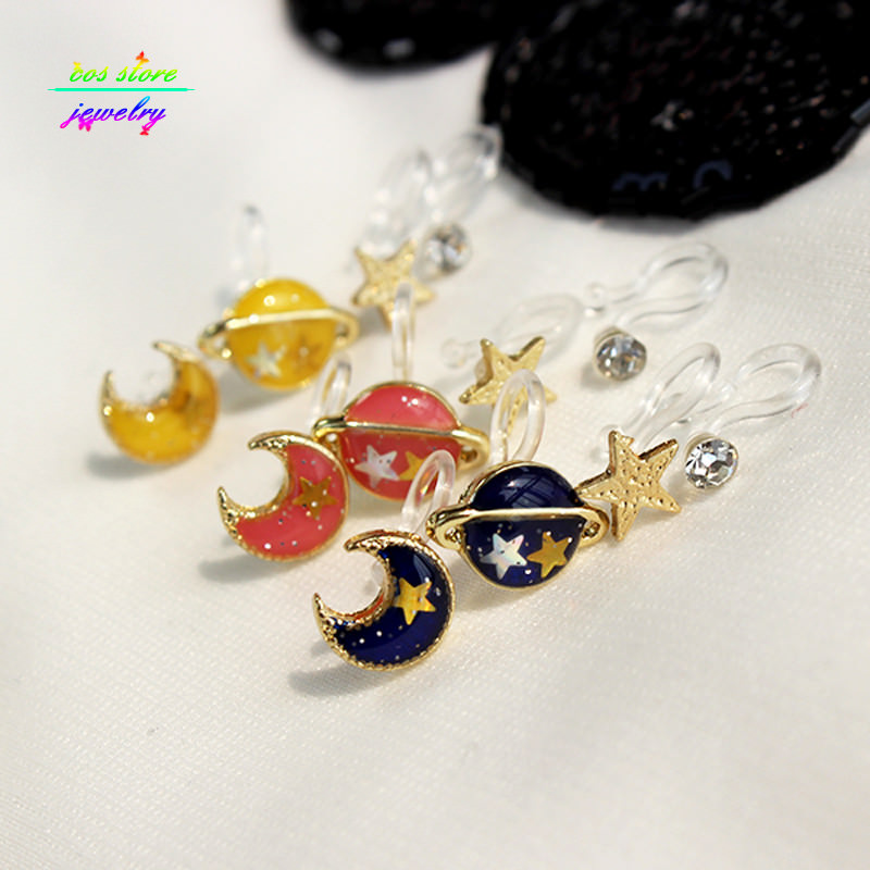 11560-83a0d6c32709eceb2f07fe1c7ed350e8 Japanese Style Universe Fake Earring Jewelry Set