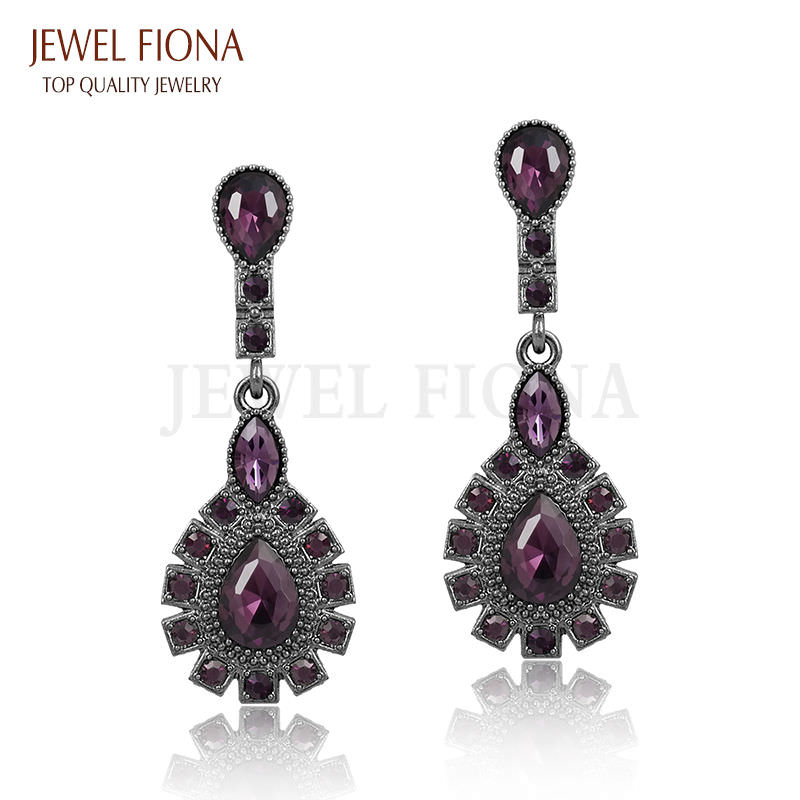 11561-4f40ad11a54a1722b2ac49fc2ebe486c Elegant Peacock Tail Dangle Earring Jewelry With Crystals