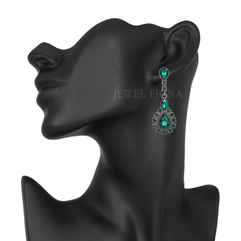 11561-dbfb501ece96a718ce2ee380b69750ab Elegant Peacock Tail Dangle Earring Jewelry With Crystals