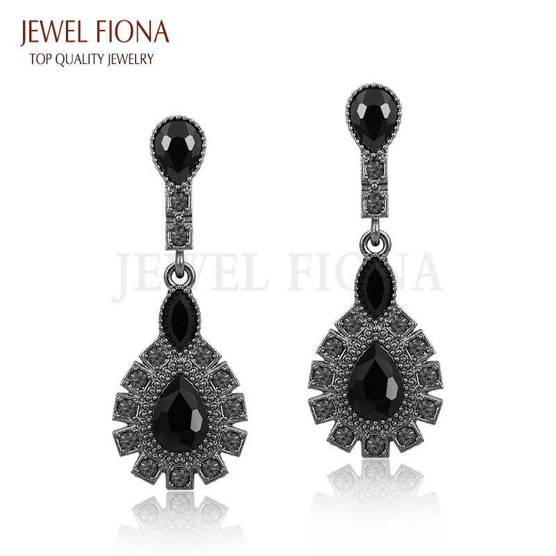 11561-ee10984dd866786ed720885608bfc223 Elegant Peacock Tail Dangle Earring Jewelry With Crystals