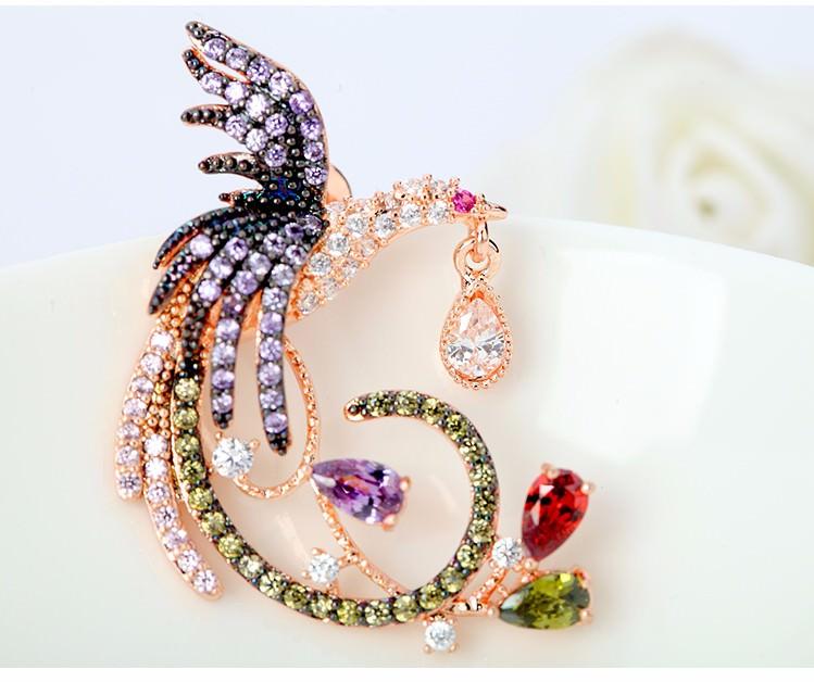 11571-183d09d57ebef19e7f2e5070336cfdb6 Teemi Gemmed Mystical Bird Push Back Earring Jewelry