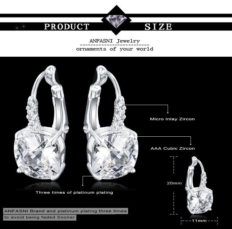 11572-6bbe9df0ee654d08cb8b1db2252cb72c ANFASNI Lever Back AAA Zircon Geometric Earring Jewelry For Women