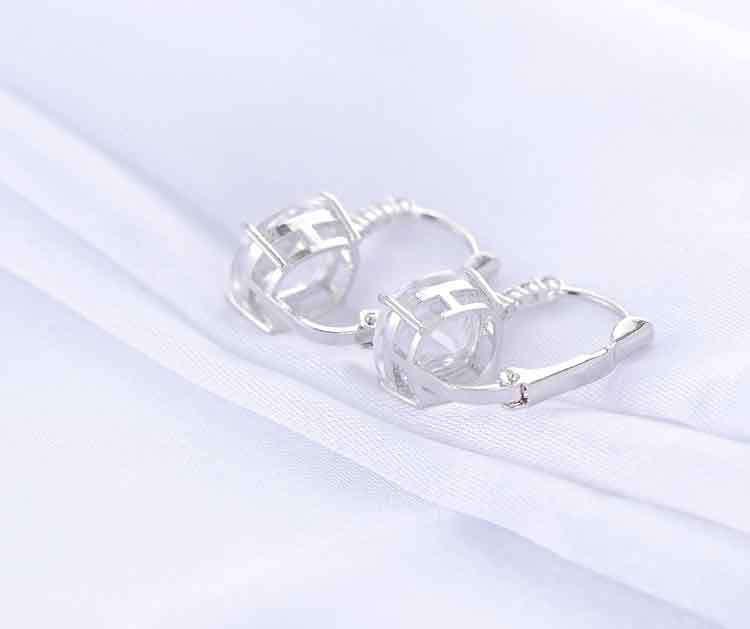 11572-d3da53e7c40687efa97b05d48b3a7d34 ANFASNI Lever Back AAA Zircon Geometric Earring Jewelry For Women