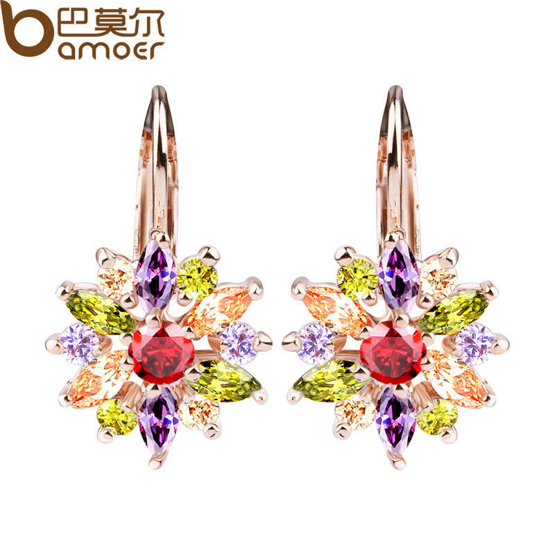 11575-2bdc2a7a9cc6f598747a0afaa9e1ff3e BAMOER Luxury Gemmed Floral Lever Back Earring Jewelry